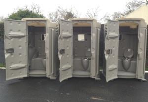 extérieur cabine sanitaire autonome premium