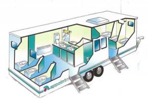 plan caravane sanitaire autonome