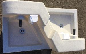 lavabo extérieur