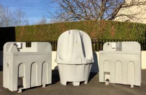 lavabos urinoirs extérieurs